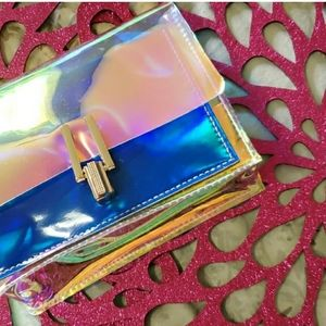 Handbags - Only a one left!!! Jelly Holographic Crossover Bag
